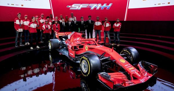 Ferrari unveil new SF-71H car for 2018 season, hope to end 10-year title wait