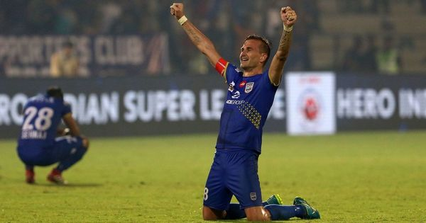 Mumbai City FC stay alive in playoff race as Goian scores last-minute winner in five-goal thriller