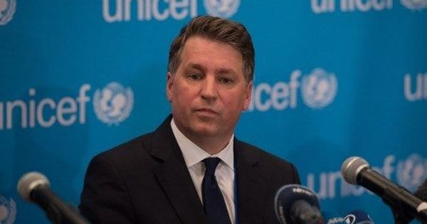 Unicef deputy chief Justin Forsyth resigns from post following complaints about inappropriate texts