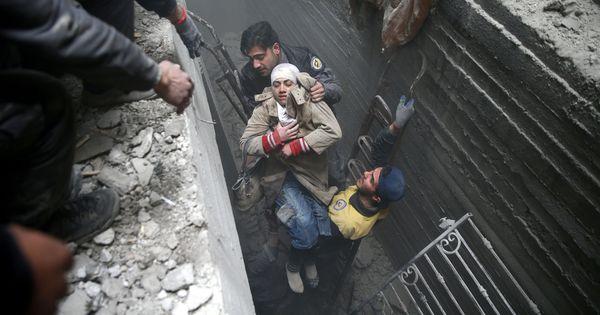 Russia blocks UN ceasefire resolution even as Syrian Army airstrikes kill 417 civilians in Ghouta