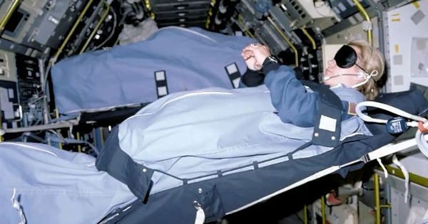 Video: How do astronauts sleep in space?