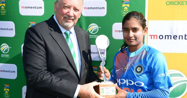 'Hope a young girl was inspired today': Twitter hails India's double series win in South Africa