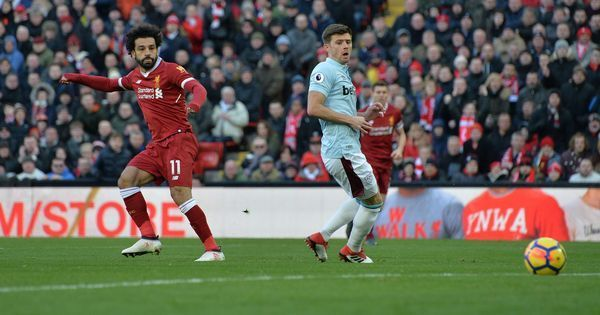 Premier League: Mohammed Salah fires Liverpool to 4-1 win over West Ham, takes them to second place