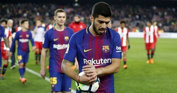 La Liga: Atletico Madrid-bound Luis Suarez leaves last Barcelona training in tears