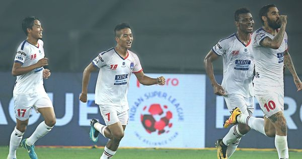 Delhi Dynamos edge out ATK in seven-goal thriller through Mirabaje's stoppage-time goal