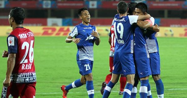 Indian Super League: Sunil Chhetri, Miku strike as Bengaluru down Jamshedpur 2-0