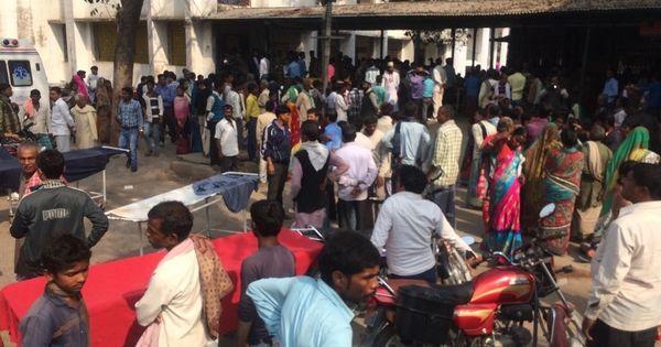Bihar: Part of roof collapses in Muzaffarpur hospital battling encephalitis outbreak, no one injured