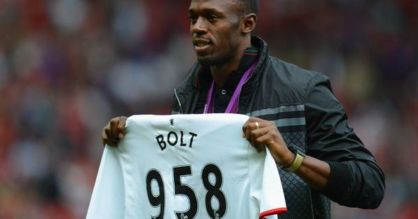 Usain Bolt all set to play at Old Trafford – just not with the team we all thought he would