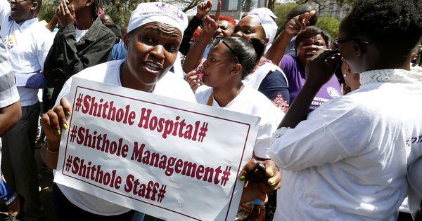 केन्याः अस्पताल में छापे के दौरान डिब्बों और थैलों में ठुंसे 12 नवजातों के शव मिले