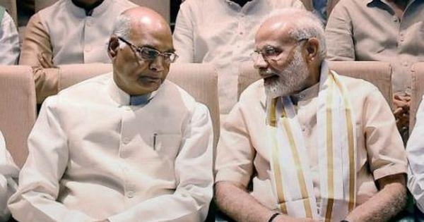 राष्ट्रपति रामनाथ कोविंद ने 16वीं लोक सभा भंग की, नई सरकार की शपथ 30 मई को संभव