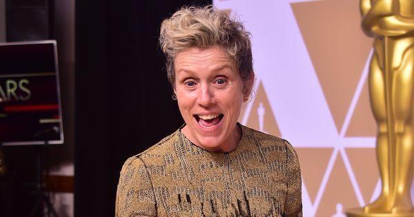 Oscars 2018: Man arrested for allegedly stealing Frances McDormand's trophy