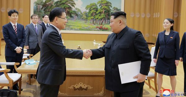 North, South Korea to hold a summit in April, Kim Jong-un says he wants to pursue reunification