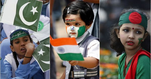 By rewriting history, India, Pakistan, Bangladesh are threatening the very identity of their people
