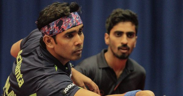 Asian Table Tennis Championships: Doubles pair Sathiyan and Sharath Kamal enter quarter-finals