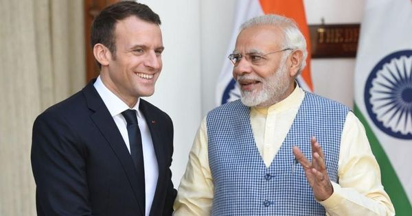 'The fight for the environment is above all a political one', says Emmanuel Macron