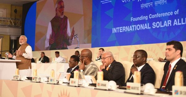 Vedas could help fight climate change, says PM Narendra Modi at first meet of global solar alliance