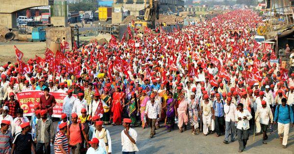 Farmers from Nashik reach Mumbai, to protest outside Maharashtra Assembly from Monday