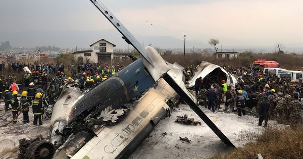 Bangladesh plane with 71 people on board crashes in Kathmandu, several casualties feared