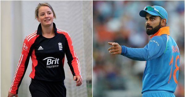 With Kohli's bat in hand, England's Danielle Wyatt looks to put infamous proposal behind her