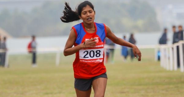 India's Sanjeevani Jadhav wins bronze in Asian cross-country race
