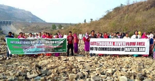 As local communities protest, Manipur government cancels plan of Modi inaugurating Mapithel Dam