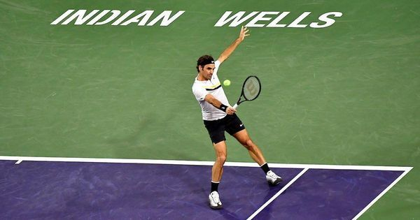 Indian Wells: Federer downs Chung to set up semi-final clash with Anderson-beater Coric