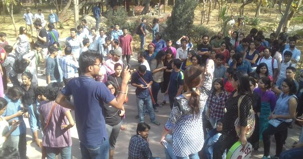 JNU professor facing sexual harassment case resigns from administrative role