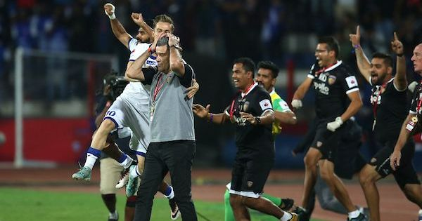 ISL Final: Clinical Chennaiyin FC stun hosts Bengaluru to lift their second title