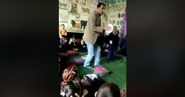 Watch: This teacher adds song and dance to learning multiplication tables. Students love it