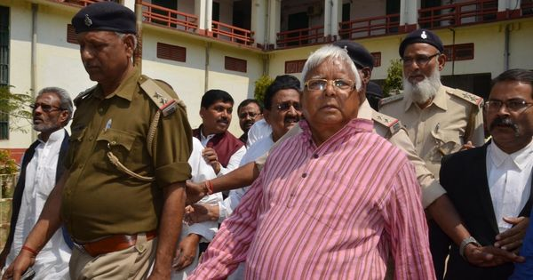Fodder scam: CBI court convicts Lalu Prasad Yadav in Dumka Treasury case