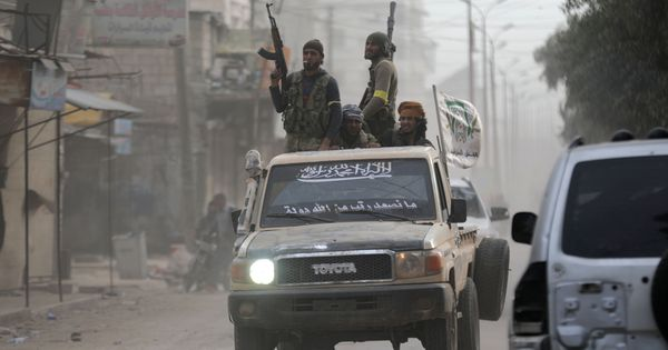 Turkey, Syrian rebel forces say they have captured Afrin town from Kurdish YPG