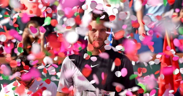 Del Potro jumps two spots to world No 6 after beating Federer and winning Indian Wells