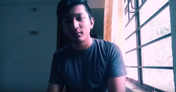 Watch: JNU's famous rapper is back. This time's he singing against the politicisation of education