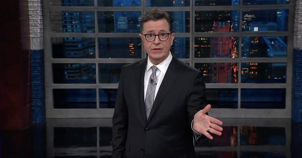 Watch: Stephen Colbert takes on Cambridge Analytica, and calls out Facebook CEO Mark Zuckerberg