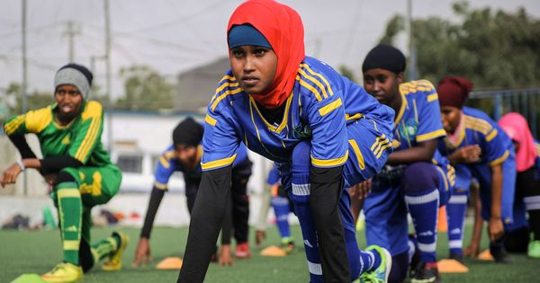 Photo feature: From Somalia, the story of women who defy strict rules to play football