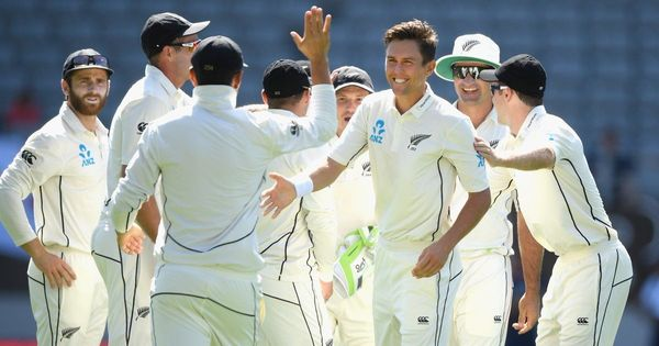 New Zealand dismiss England for 58 as Trent Boult picks up 6/32 in 1st Test