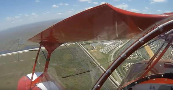 Watch: Pilot captures the heart-stopping moment when his plane has an engine failure mid flight