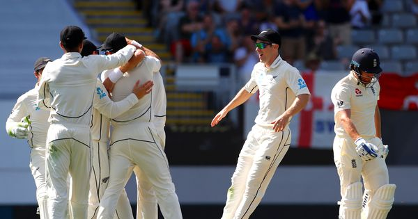 'Pink ball in running for New Zealander of the year': Twitter aghast as England crash to 58 all out