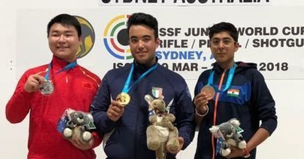 Vivaan Kapoor wins Trap bronze in Junior Shooting World Cup