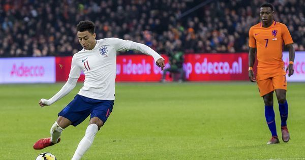 Jesse Lingard's first international goal helps England beat the Netherlands after 22 years