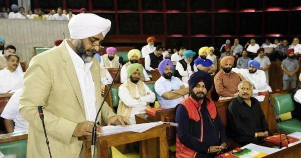 Punjab: AAP, Shiromani Akali Dal walk out of Assembly while finance minister presents Budget