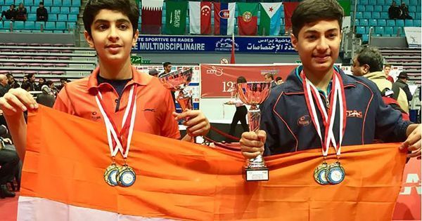 Aadil Anand sizzles with golden double as young paddlers excel in Tunisia Open