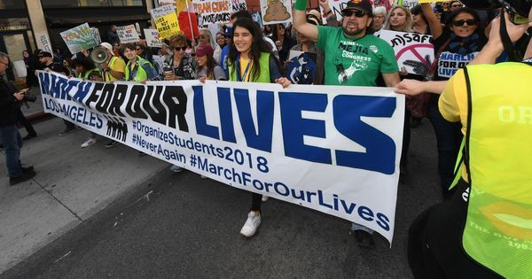 United States: Thousands of students march across country for their lives, demand stricter gun laws