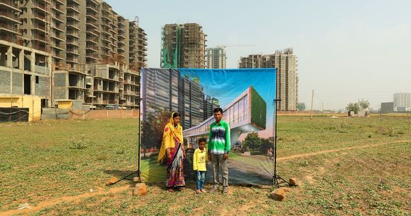 Paris in Mumbai: A photo series highlights the absurdity of India's elite residential projects