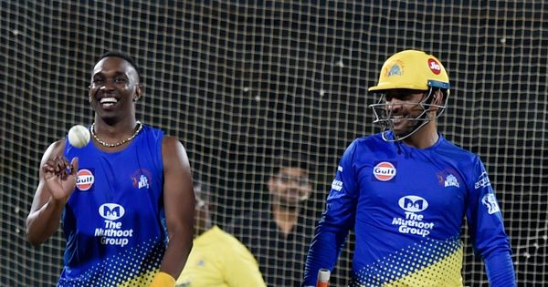 Watch: CSK teammate Dwayne Bravo's tribute to MS Dhoni with new single 'Helicopter 7'