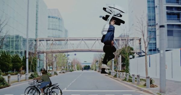 Watch: These gravity-defying backpacks might allow us to leap effortlessly across traffic