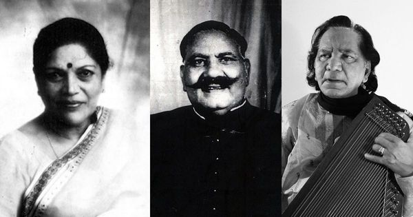 Listen: Bade Ghulam Ali Khan, Jagdish Prasad and Shobha Gurtu perform thumris set to Kaharvaa taal