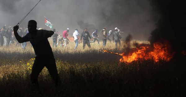 Gaza protests: Israeli soldiers kill four Palestinian protestors