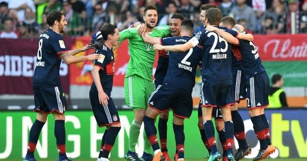 Football: Bayern Munich clinch Bundesliga crown for six consecutive season