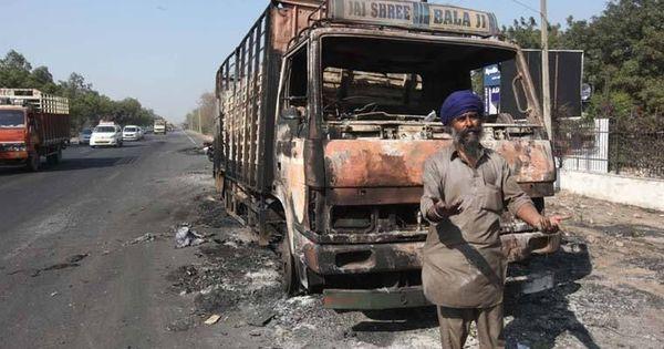 क्या दलित संगठनों के 'भारत बंद' के दौरान इस सिख ड्राइवर की बस जला दी गई थी?